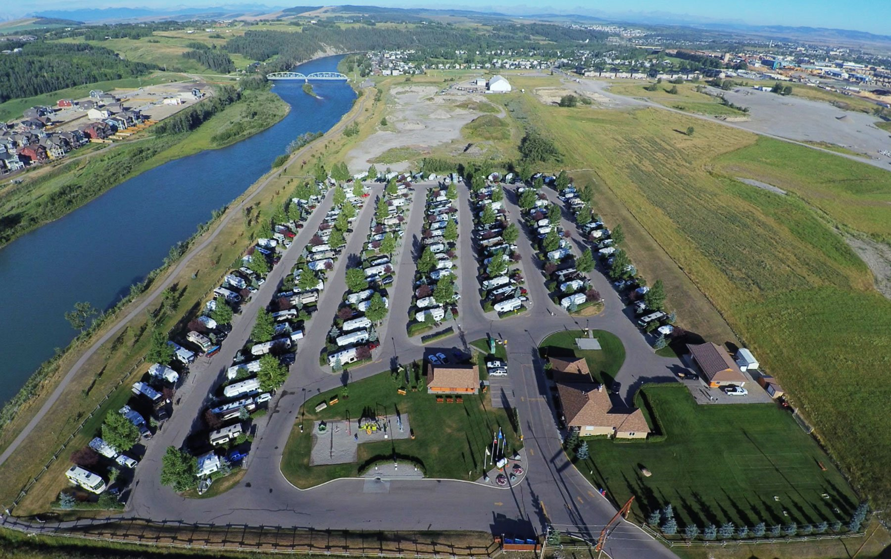 Bow RiversEdge - Aerial